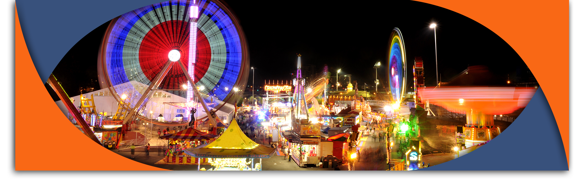carnival at night