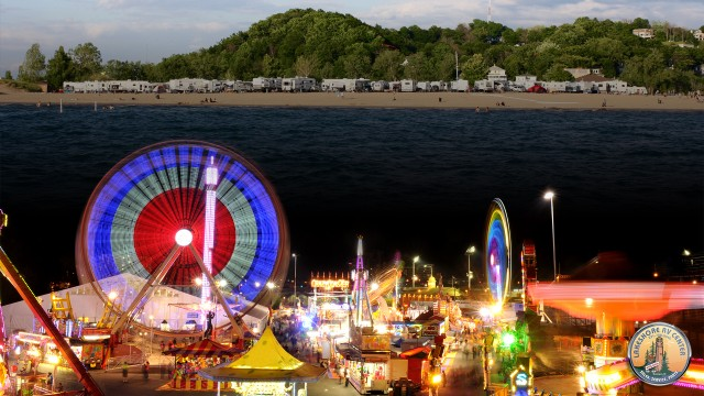 Coast Guard Festival & RV Camping in Grand Haven, MI