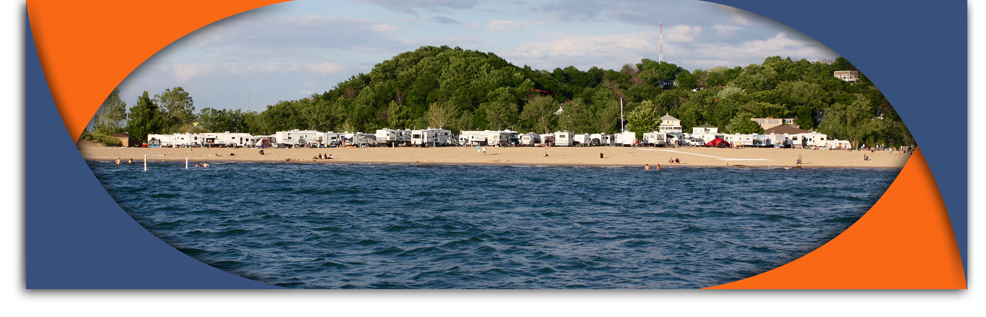 grand haven rv park on lake michigan