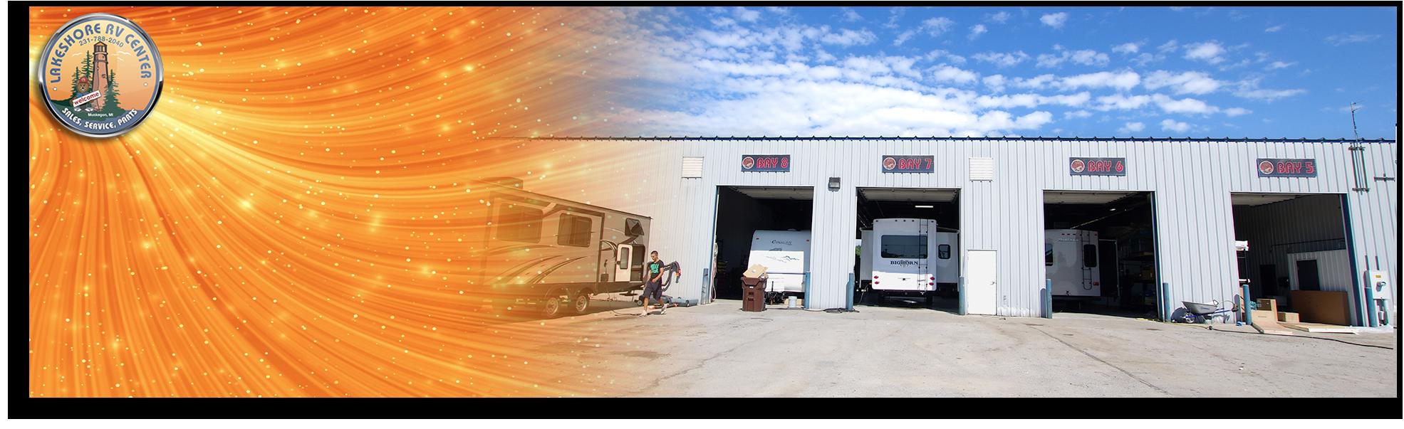 Lakeshore RV Service Department- Expert Service & Repair