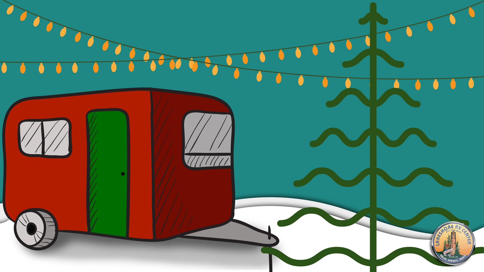 Christmas Rv Camping Lakeshore Rv Blog