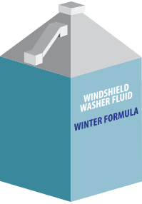 windshield washer fluid winter formula