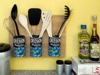 Utensils in Cans