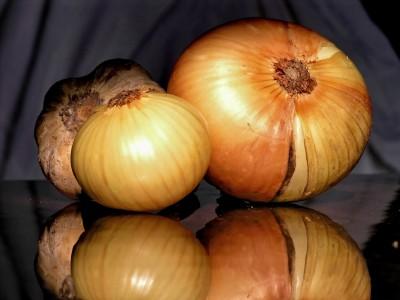 Vidalia onions on the grill