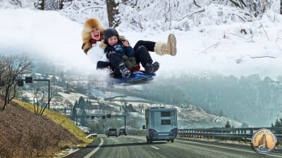 Winter RVing Fun