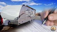First time travel trailer