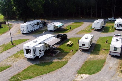 Camping Options Near Richmond International Speedway