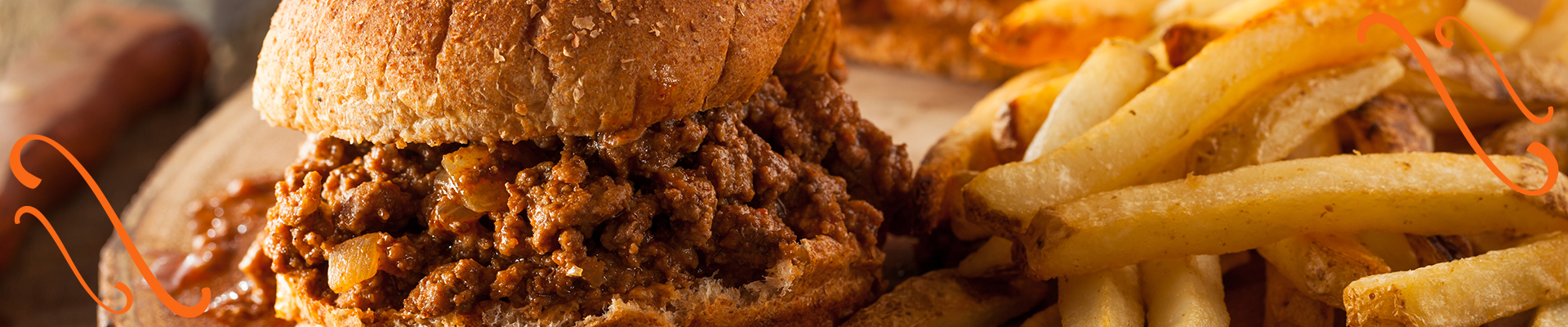 Sloppy joes - an easy wintertime recipe to make while RVing