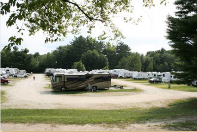 RV Camping Options Near New Hampshire Motor Speedway