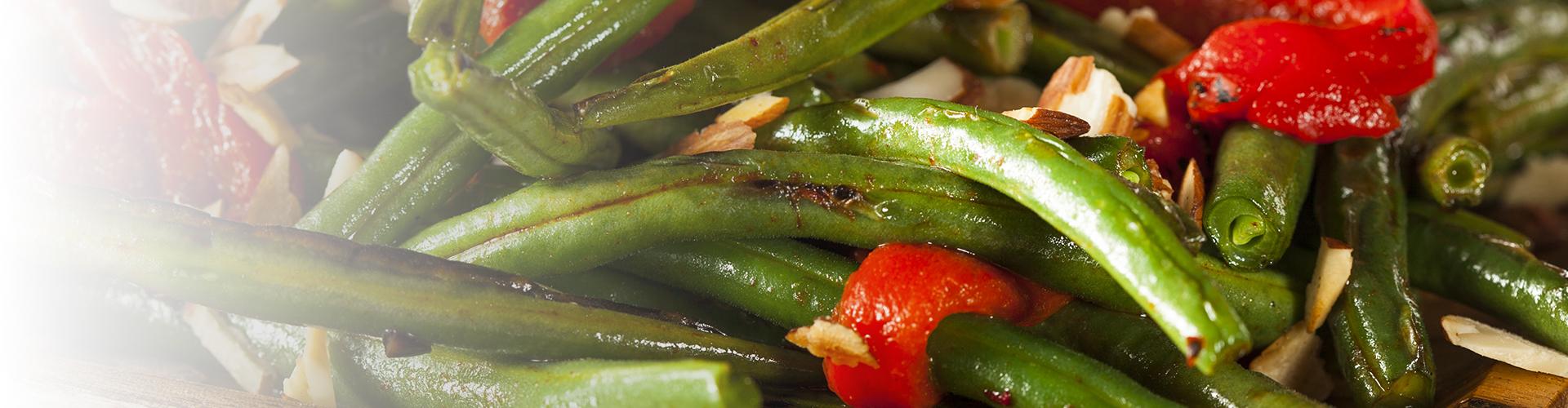 hazelnut green beans