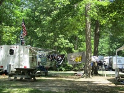 Camping Options Near Dover International Speedway