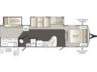 2014 Outback 312BH Floor Plan