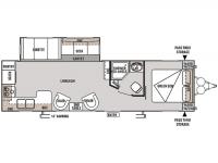 2014 Wildwood 27RKSS Floor Plan