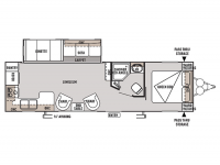 2015 Wildwood 27RKSS Floor Plan