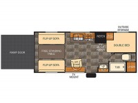 2015 Vengeance 19V Floor Plan