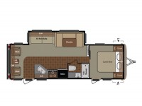 2015 Springdale 266RL Floor Plan