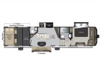 2015 Raptor 375TS Floor Plan