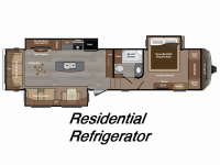 2015 Montana 3611RL Floor Plan