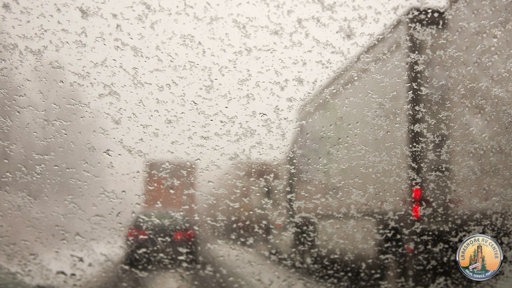 Nothing But Break Lights? Take Caution! Tips For Driving Your RV During Bad Weather