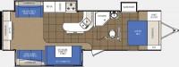 2013 LaCrosse 322RES Floor Plan