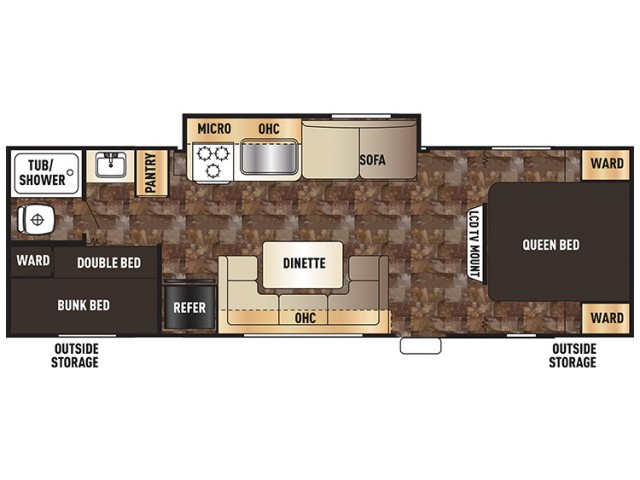 2016 Grey Wolf 28bhks Floor Plan