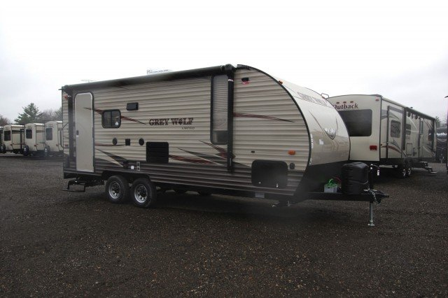 New 2016 Forest River Grey Wolf 19rr Toy Hauler For Sale Gr6125