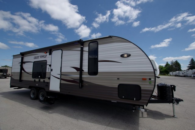 New 2016 Forest River Grey Wolf 26rr Toy Hauler For Sale Gr6134