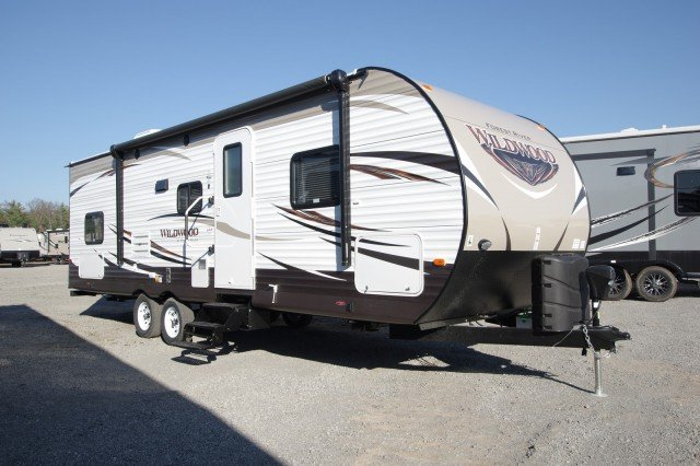 New 2016 Forest River Wildwood 28dbud Travel Trailer For Sale Wi6321