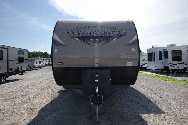 New 2016 Forest River Wildwood 31kqbts Travel Trailer For Sale Wi6331
