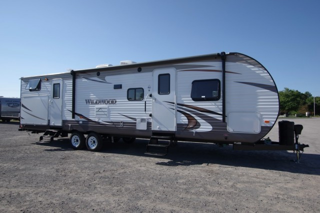 New 2016 Forest River Wildwood 32bhds Travel Trailer For Sale Wi6333