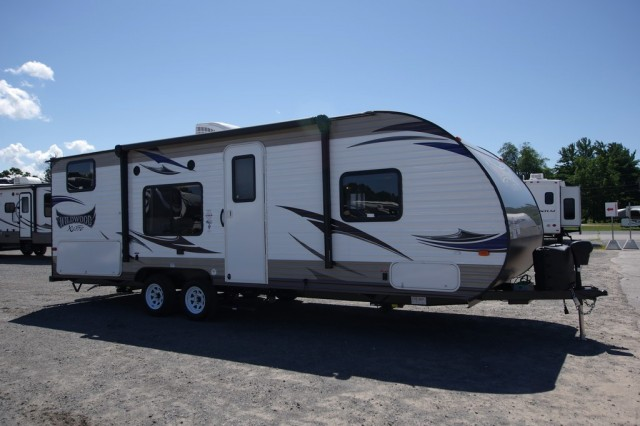 New 2016 Forest River Wildwood X-Lite 261bhxl Travel Trailer For Sale Wi6355