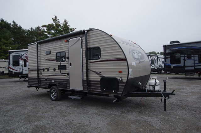New 2016 Forest River Wolf Pup 16bhs Travel Trailer For Sale Wo6369