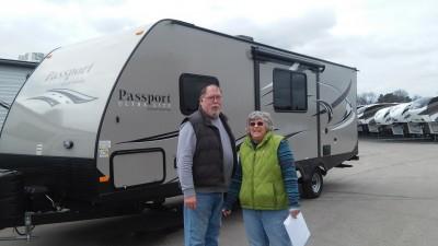 Jim Street of Spring Lake, MI with their Passport Grand Touring 2400BH