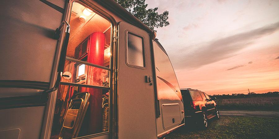 Parked Camper