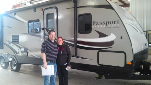 John Wassen of Muskegon, MI with their Passport Grand Touring 3290BH