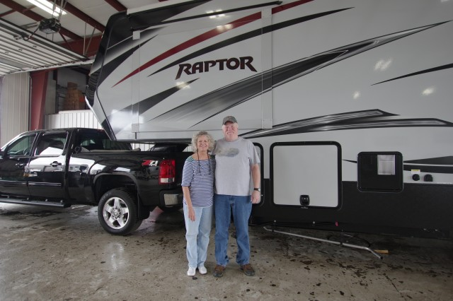 Ken H of Watervilet, MI with their Raptor 300MP