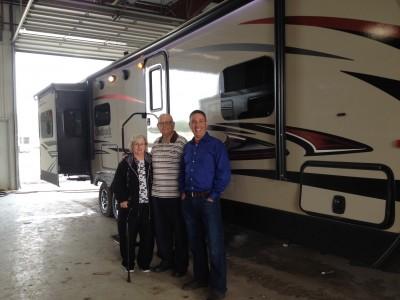 Bob Ellis of Las Vegas, NV with their Outback 298RE