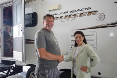 Douglas Saxon Of Muskegon, MI With Their Cruiser 27rlx