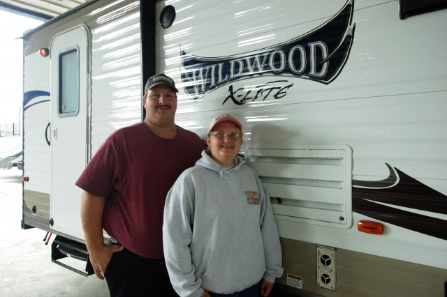 Edward Robinson of Greenville, MI with their Wildwood X-Lite 185RB