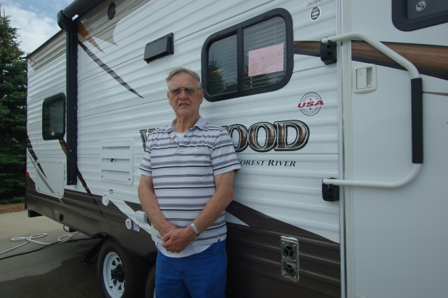 Tom Winger of Benton, IL with their Wildwood 26TBSS