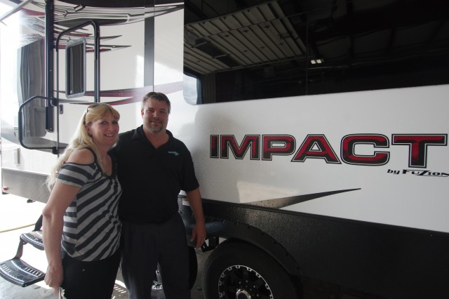 Michael Phillips of Battle Creek, MI with their Impact 260