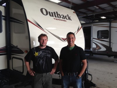 Richard Benak of Silverthorne, CO with their Outback Terrain 210TRS