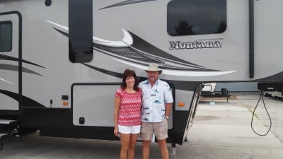 Ed Becker of Muskegon, MI with their Montana High Country 343RL
