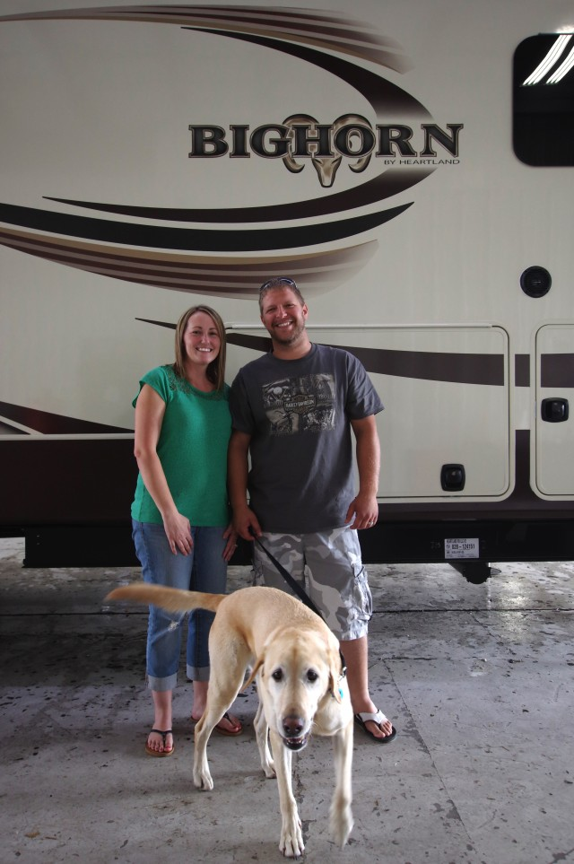 William Town of Erie, MI with their Bighorn 3760EL