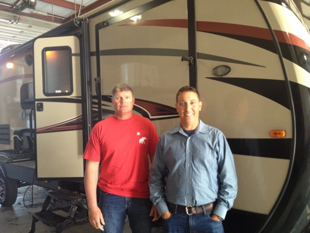 Ken Bilk Jogs of Monroeville, AL with their Outback 324CG