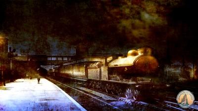 Ghost Train Photo Mockup Start