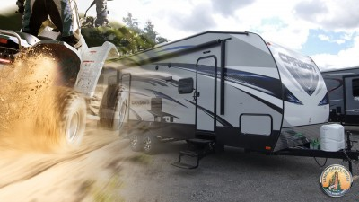 Top 5 Toy Haulers  Travel Trailers FI