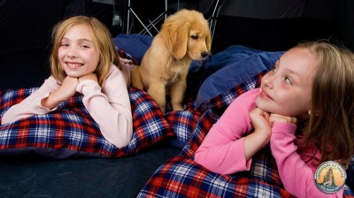 Girls Sleeping Tent