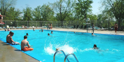 Pool at Camp Dearborn