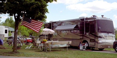 Rv Camping at Camp Dearborn